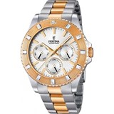 WATCH FESTINA TWO-TONE WOMAN WITH A BEZEL WITH STONES F16695/1