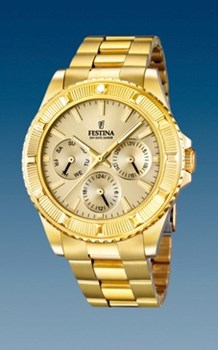 Reloj Festina dorado F16693/2