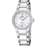 WATCH FESTINA FOR WOMAN STEEL AND CERAMIC WHITE F16637/1