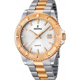 WATCH FESTINA WOMEN'S STEEL TWO-TONE ROSE F16685/1