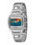 WATCH FOSSIL STEEL SPHERE LANDSCAPE BEACH BG2045