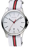 G-TIMELESS WATCH WHITE GUCCI YA126322