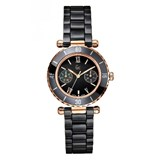 WATCH BLACK CERAMIC WOMAN GC I42004L2S