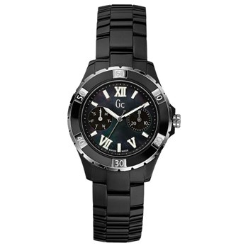 WATCH GC X69002L2S SPORT CLASS XL-S GLAM BLACK CERAMIC Guess