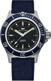 WATCH, GLYCINE AUTOMATIC COMBAT SUB BLUE 3908.19-B