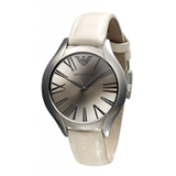 I AR0776 EMPORIO ARMANI BEIGE GREY WATCH