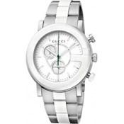 Reloj Gucci acero y cerámica YA101345
