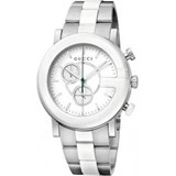 GUCCI WATCH STEEL AND CERAMIC YA101345