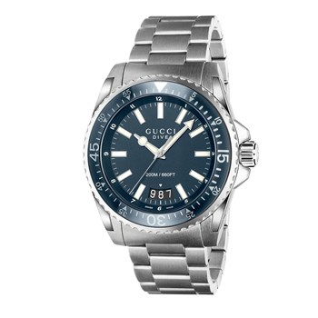 GUCCI YA136203 QUARTZ DIVE WATCH