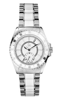 GUESS COLLECTION MONTRE ACIER CÉRAMIQUE 29005L 1 29005L1