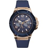 GUESS WATCH MEN ANALOG RUBBER W0247G3