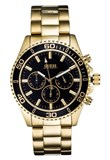 GUESS MONTRE HOMMES TONS D'OR, CHRONO W170G2