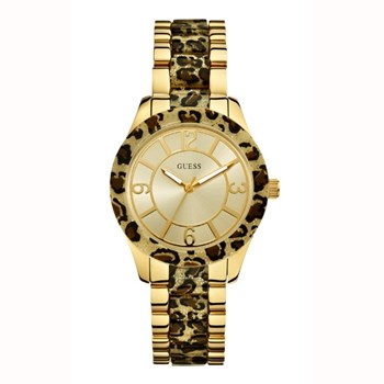 RELOJ GUESS LADIES F11 LEOPARDO W0014L2