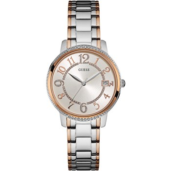 GUESS WATCH WOMEN ANALOG STAINLESS STEEL W0929L3