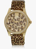 GUESS WATCH WOMEN ANALOG GOLDEN W0333L1