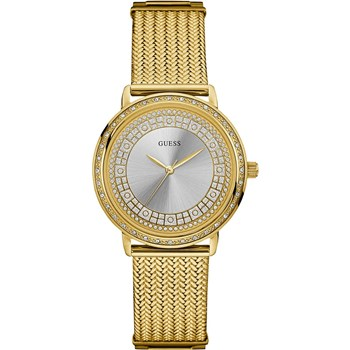 GUESS WATCH WOMEN ANALOG GOLDEN W0836L3