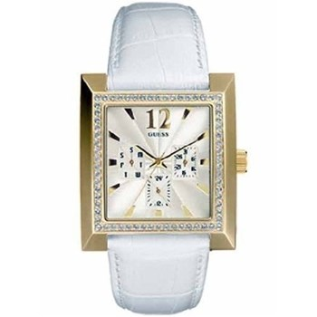 Guess montre femme 11515L 1 carré d\'or 11515L1