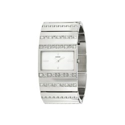 Guess watch women silver sphere shell 95006l 1 95006l1