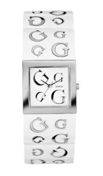 Guess watch women bracelet resin white 10102l 2 10102l2