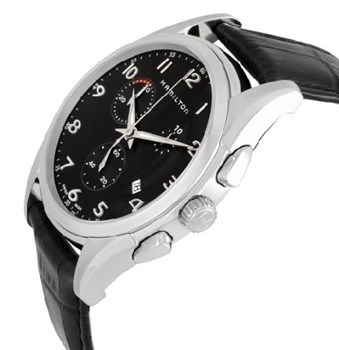 MONTRE HAMILTON JAZZMASTER THINLINE CHRONO QUARTZ H38612733