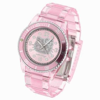 Hello Kitty pink watch
