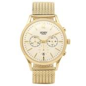 Reloj Henry London dorado amarillo crono HL41-CM-0020