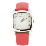 MONTRE HERSA SANGLE ROUGE HSC1001R