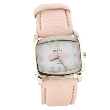 Reloj Hersa correa rosa  H40370P