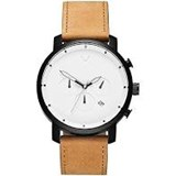 WATCH MAN MVMT CRON�GRAPH STRAP LEATHER D-MC02-WBTL