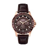 WATCH MAN LEATHER ANALOG W0387G3 GUESS