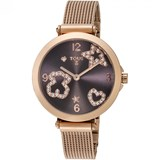 WATCH TOUS ICON MESH WATCH ICEMESHIPRG TRAN