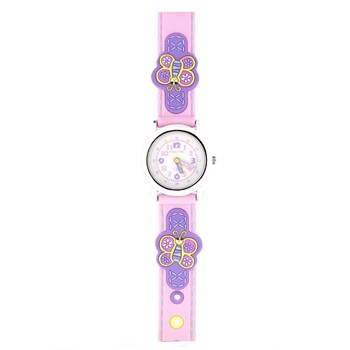 Montre enfant papillons  JF1212 Jacques Farel