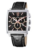 WATCH JAGUAR J633/3 MAN WITH BLACK LEATHER STRAP