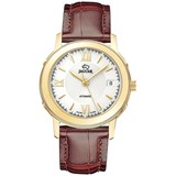 WATCH J952/1 MAN AUTOMATIC WITH LEATHER STRAP BROWN JAGUAR