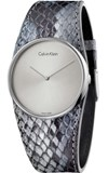 WATCH K5V231Q4 WOMEN LEATHER SNAKE CALVIN KLEIN