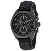 WATCH KHAKI BLACK CHRONO HAMILTON H71626735