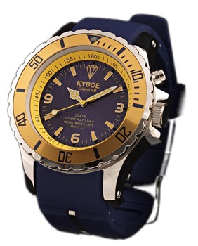 WATCH KYBOE MARINE BLUE MS002 48MM / 48MM MS002/48MM
