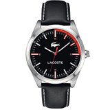 WATCH, LACOSTE WATCHES AND LEATHER BLACK 2010733
