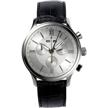 WATCH LC1098-SS001-11E ANALOG WITH LEATHER STRAP BLACK, MAURICE LACROIX