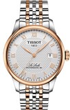 WATCH LE LOCLE TWO-TONE GENTLEMAN'S TISSOT T006 407 22 033 00 T006.407.22.033.00