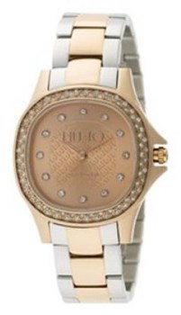 LIUJO MAYA TLJ656 TWO-TONE ROSE GOLD WATCH Liu Jo