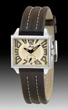 MONTRE LOTUS RECTANGULAIRE BRACELET BRUN 15406/5