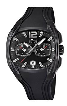 Reloj Lotus caballero negro 8430622535833