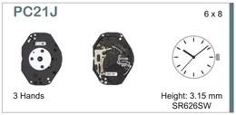 Maquinaria de reloj Ref SEIKO C21J Diloy MRHAT0PC21J