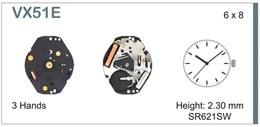Maquinaria de reloj Ref SEIKO VX51 Diloy MRHAT00VX51