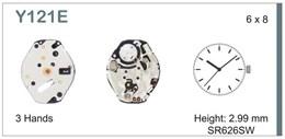 Maquinaria de reloj Ref SEIKO Y121 Diloy MRHAT00Y121