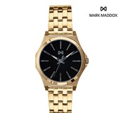 WATCH MARK MADDOX STAINLESS STEEL WITH BA�OR GOLD HM7103-57