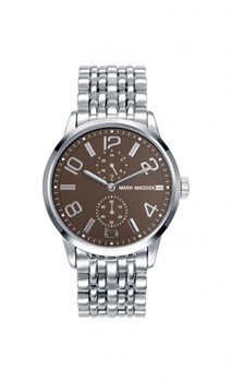 WATCH MARK MADDOX MALE SPHERE COFFEE BROWN HM3002-45