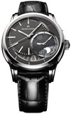 MAURICE LACROIX WATCH AUTOMATIC BLACK PTY6118-SS001-330