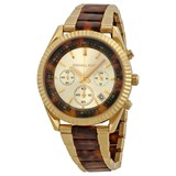 MICHAEL KORS GOLD TONE CHRONO LADY MK5963